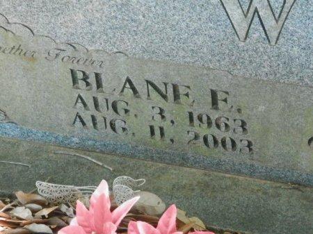 WHITE, BLANE E (CLOSEUP) - Red River County, Texas | BLANE E (CLOSEUP) WHITE - Texas Gravestone Photos