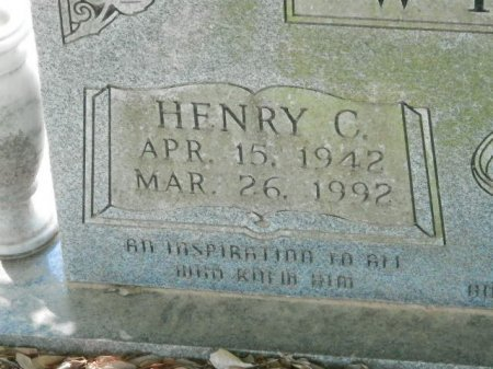 WHITE, HENRY C (CLOSEUP) - Red River County, Texas | HENRY C (CLOSEUP) WHITE - Texas Gravestone Photos