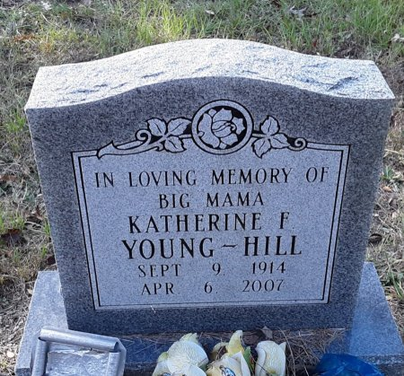 YOUNG-HILL, KATHERINE F - Red River County, Texas | KATHERINE F YOUNG-HILL - Texas Gravestone Photos