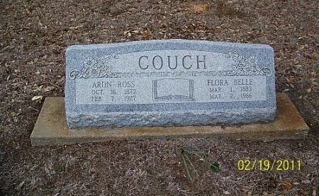 COUCH, AARON ROSS - Robertson County, Texas | AARON ROSS COUCH - Texas Gravestone Photos