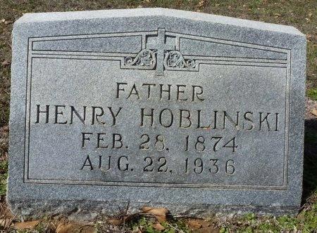 HOBLINSKI, HENRY - Robertson County, Texas   HENRY HOBLINSKI - Texas Gravestone Photos