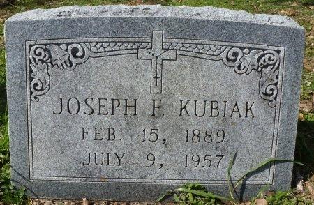 KUBIAK, JOSEPH F. - Robertson County, Texas | JOSEPH F. KUBIAK - Texas Gravestone Photos