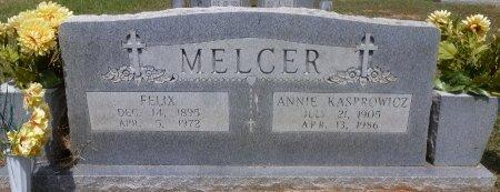 MELCER, FELIX - Robertson County, Texas | FELIX MELCER - Texas Gravestone Photos