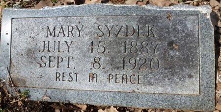 SZYDEK, MARY - Robertson County, Texas | MARY SZYDEK - Texas Gravestone Photos