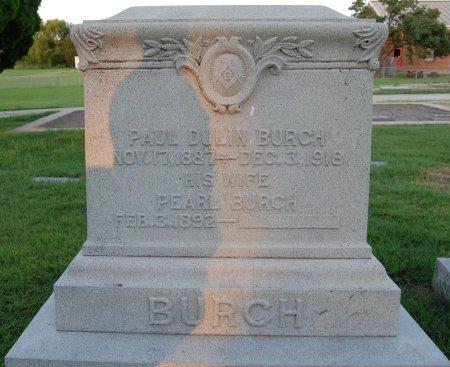 BURCH, PAUL DULIN - Rockwall County, Texas | PAUL DULIN BURCH - Texas Gravestone Photos