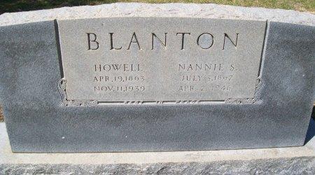 BLANTON, NANNIE S. - Rusk County, Texas | NANNIE S. BLANTON - Texas Gravestone Photos