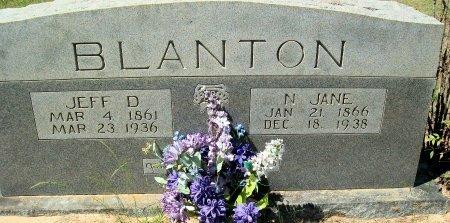 GLADEN BLANTON, N. JANE - Rusk County, Texas   N. JANE GLADEN BLANTON - Texas Gravestone Photos
