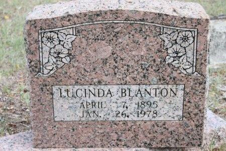 BLANTON, LUCINDA - Rusk County, Texas   LUCINDA BLANTON - Texas Gravestone Photos
