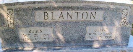 BLANTON, OLLIVE - Rusk County, Texas   OLLIVE BLANTON - Texas Gravestone Photos