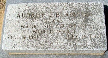BLANTON (VETERAN WWI), AUDREY J. - Rusk County, Texas | AUDREY J. BLANTON (VETERAN WWI) - Texas Gravestone Photos