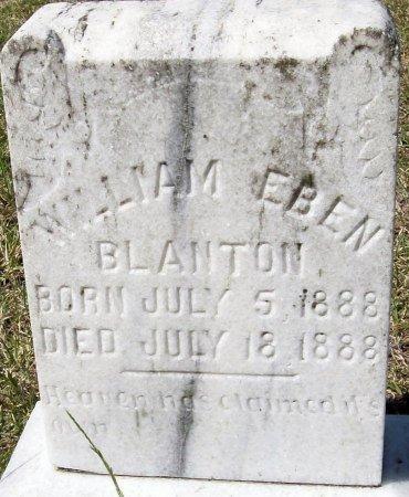 BLANTON, WILLIAM EBEN - Rusk County, Texas   WILLIAM EBEN BLANTON - Texas Gravestone Photos