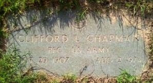 CHAPMAN (VETERAN), CLIFFORD LEE - Rusk County, Texas | CLIFFORD LEE CHAPMAN (VETERAN) - Texas Gravestone Photos
