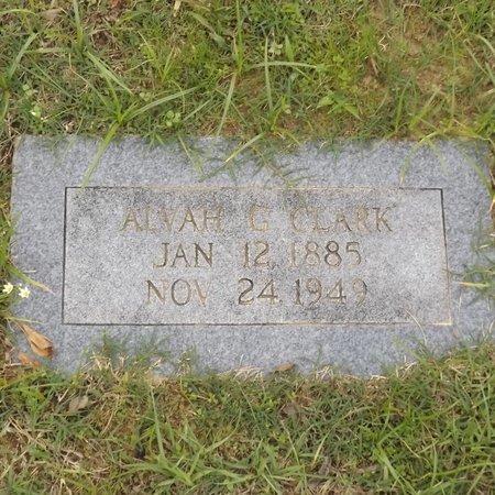 CLARK, ALVAH G - Rusk County, Texas   ALVAH G CLARK - Texas Gravestone Photos