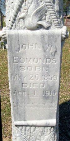 EDMONDS, JOHN W. - Rusk County, Texas | JOHN W. EDMONDS - Texas Gravestone Photos