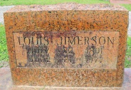 JIMERSON, LOUIS - Rusk County, Texas | LOUIS JIMERSON - Texas Gravestone Photos