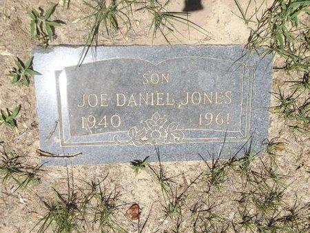 JONES, JOE DANIELS - Rusk County, Texas | JOE DANIELS JONES - Texas Gravestone Photos