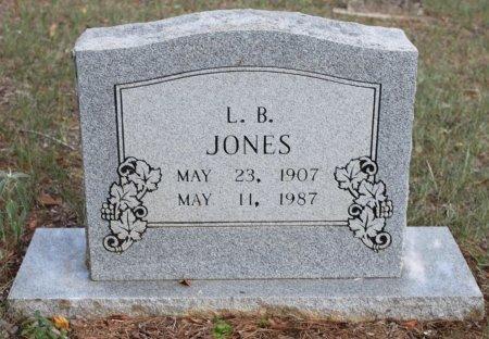 JONES, L. B. - Rusk County, Texas   L. B. JONES - Texas Gravestone Photos