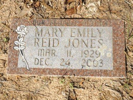 JONES, MARY EMILY - Rusk County, Texas   MARY EMILY JONES - Texas Gravestone Photos