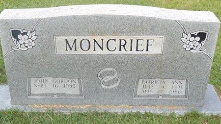 MONCRIEF, PATRICIA ANN - Rusk County, Texas | PATRICIA ANN MONCRIEF - Texas Gravestone Photos