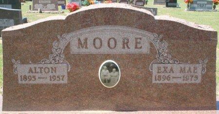 MOORE, SR., ALTON - Rusk County, Texas   ALTON MOORE, SR. - Texas Gravestone Photos