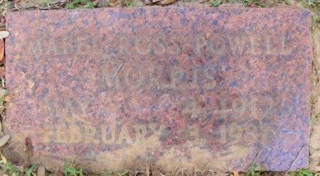 MORRIS, MABEL ROSS - Rusk County, Texas | MABEL ROSS MORRIS - Texas Gravestone Photos