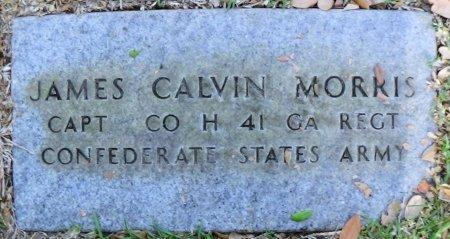 MORRIS (VETERAN CSA), JAMES CALVIN - Rusk County, Texas   JAMES CALVIN MORRIS (VETERAN CSA) - Texas Gravestone Photos