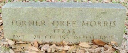 MORRIS (VETERAN), TURNER OREE - Rusk County, Texas   TURNER OREE MORRIS (VETERAN) - Texas Gravestone Photos