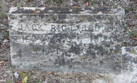 RICHARDSON, JACK - Rusk County, Texas | JACK RICHARDSON - Texas Gravestone Photos