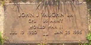 VAUGHN (VETERAN WWII), JOHN JUNIOR - Rusk County, Texas | JOHN JUNIOR VAUGHN (VETERAN WWII) - Texas Gravestone Photos