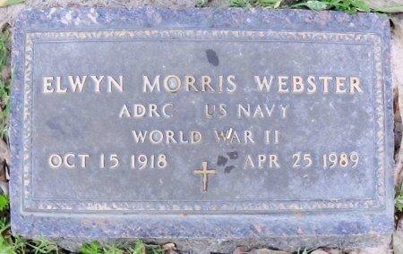 WEBSTER (VETERAN), ELWYN MORRIS - Rusk County, Texas   ELWYN MORRIS WEBSTER (VETERAN) - Texas Gravestone Photos