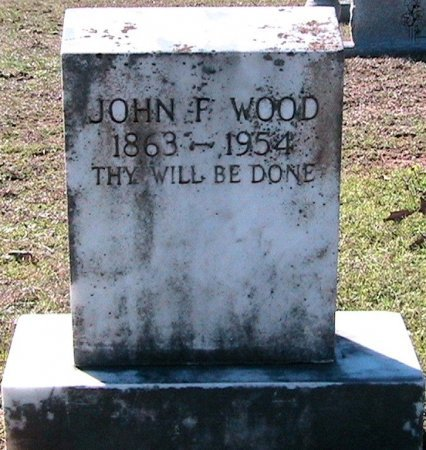 WOOD, JOHN FRANKLIN - Rusk County, Texas | JOHN FRANKLIN WOOD - Texas Gravestone Photos