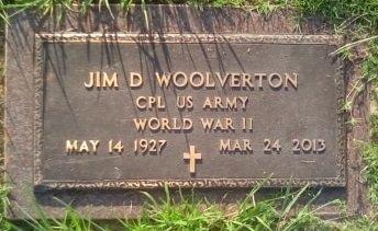 WOOLVERTON (VETERAN WWII), JIM DAVID - Rusk County, Texas   JIM DAVID WOOLVERTON (VETERAN WWII) - Texas Gravestone Photos