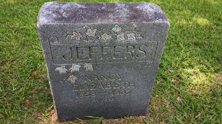 JEFFERS, NANCY ELIZABETH - Sabine County, Texas | NANCY ELIZABETH JEFFERS - Texas Gravestone Photos