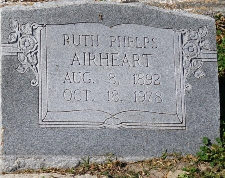 AIRHEART, RUTH - San Patricio County, Texas | RUTH AIRHEART - Texas Gravestone Photos