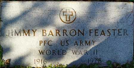 FEASTER (VETERAN WWII), JIMMY BARRON - San Patricio County, Texas | JIMMY BARRON FEASTER (VETERAN WWII) - Texas Gravestone Photos