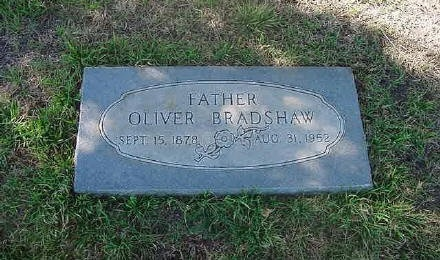 BRADSHAW, OLIVER EDWARD - Schleicher County, Texas | OLIVER EDWARD BRADSHAW - Texas Gravestone Photos