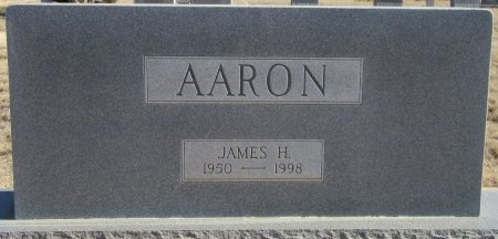 AARON, JAMES H. - Scurry County, Texas | JAMES H. AARON - Texas Gravestone Photos