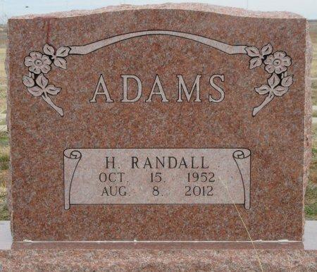 ADAMS, HERBERT RANDALL - Scurry County, Texas | HERBERT RANDALL ADAMS - Texas Gravestone Photos