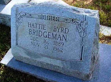 BYRD BRIDGEMAN, HATTIE - Scurry County, Texas | HATTIE BYRD BRIDGEMAN - Texas Gravestone Photos