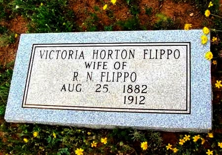 FLIPPO, VICTORIA MARIE - Scurry County, Texas | VICTORIA MARIE FLIPPO - Texas Gravestone Photos