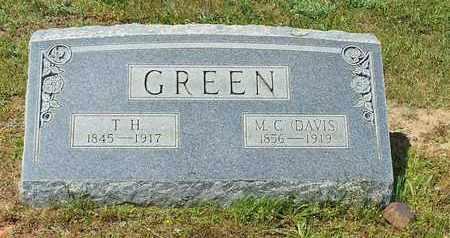 GREEN, THOMAS HENRY - Shelby County, Texas | THOMAS HENRY GREEN - Texas Gravestone Photos