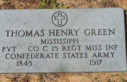 GREEN (VETERAN CSA), THOMAS HENRY - Shelby County, Texas | THOMAS HENRY GREEN (VETERAN CSA) - Texas Gravestone Photos