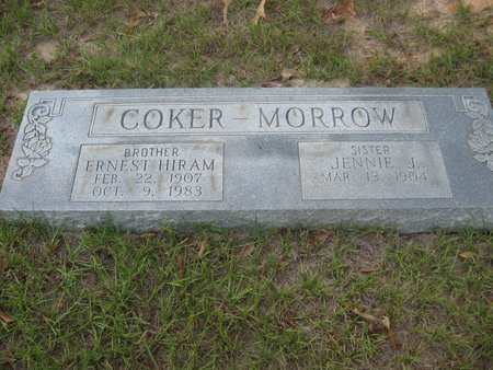 COKER, ERNEST HIRAM - Smith County, Texas | ERNEST HIRAM COKER - Texas Gravestone Photos