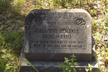 MAGEE HEMBREE, ELIZABETH M - Smith County, Texas   ELIZABETH M MAGEE HEMBREE - Texas Gravestone Photos