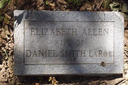 ALLEN LAROE, ELIZABETH - Smith County, Texas | ELIZABETH ALLEN LAROE - Texas Gravestone Photos
