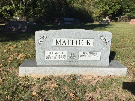 MATLOCK, THOMAS LLOYD - Smith County, Texas | THOMAS LLOYD MATLOCK - Texas Gravestone Photos