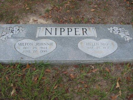 NIPPER, MILTON JOHNNIE - Smith County, Texas | MILTON JOHNNIE NIPPER - Texas Gravestone Photos