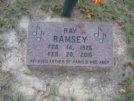 RAMSEY, RAY - Smith County, Texas | RAY RAMSEY - Texas Gravestone Photos