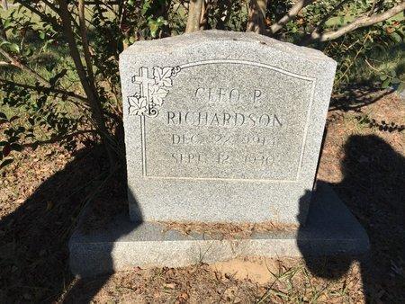 RICHARDSON, CLEO - Smith County, Texas   CLEO RICHARDSON - Texas Gravestone Photos