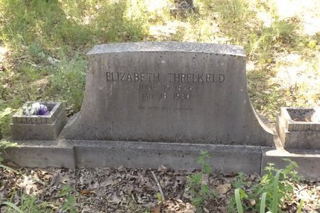THRELKELD, ELIZABETH - Smith County, Texas | ELIZABETH THRELKELD - Texas Gravestone Photos